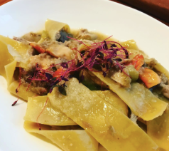 Pappardelle with Confit Rabbit